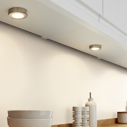 LED Surface mounted circular downlighters