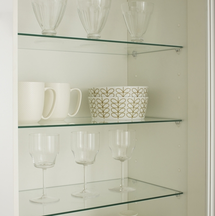 Internal Glass Shelves