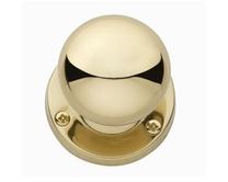 Brass mortice knob