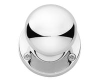 Chrome mortice knob