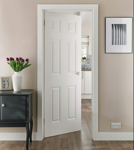 6 Panel smooth door & 6 Panel Smooth Door | Howdens Joinery