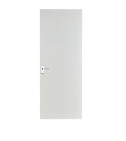Primed unlipped hardboard door