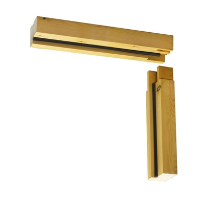 Unassembled Garage Softwood Door Frame Howdens Joinery