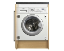 AEG 1400rpm integrated washing machine