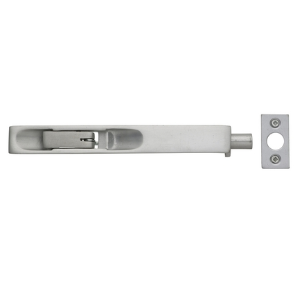 Aluminium flush bolt