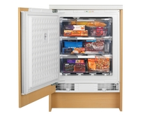 Bosch built-under integrated freezer