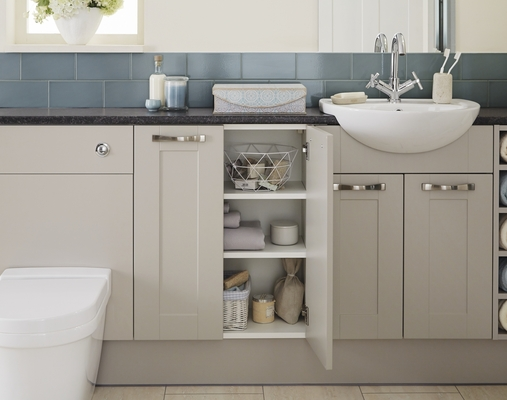 Burford Bathroom Cabinet Howdens Joinery