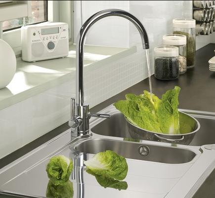 Gloss Flint Integrated Handle Kitchen Range Kitchen