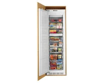 Lamona integrated full-height larder freezer
