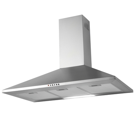 lamona stainless steel chimney extractor fan 90cm howdens joinery rh howdens com ADT Security La Mona La Mona Name Meaning