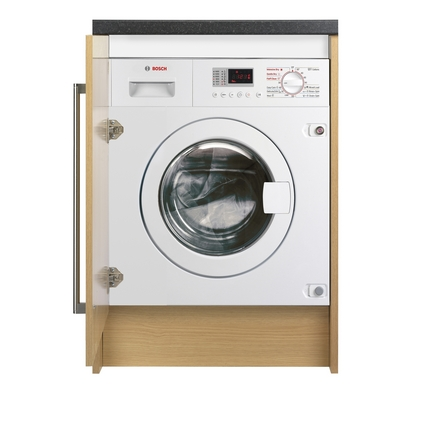 Bosch 1400rpm Integrated Washer Dryer Laundry Howdens