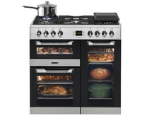 Leisure Stainless Steel range cooker