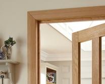 Fire rated door frames