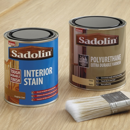 Interior stain & varnish