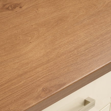 Bullnose Textured Laminate Oak Effect Worktop | Howdens ...