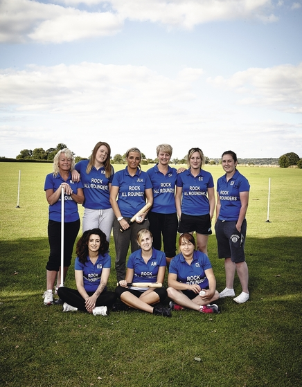 Rock Rovers rounders team