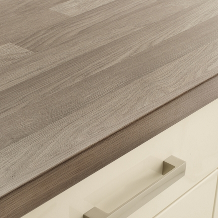 Grey Oak Block Effect worktop