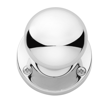 Chrome mortice knob | Door handles | Hardware collection | Howdens ...