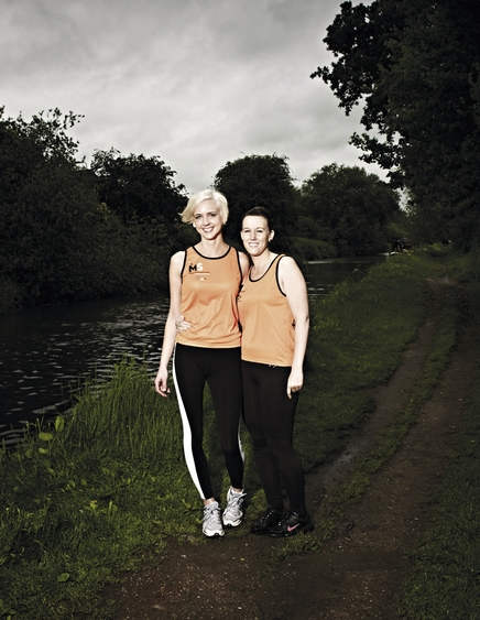 Training for Great North Run for MS Society