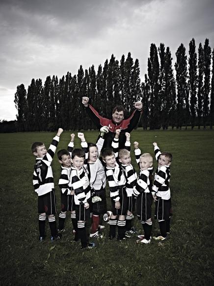 Carcroft village under 7s football team, Doncaster