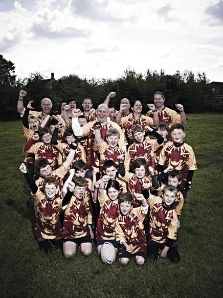 Dartfordians under 9s players, Burnham-on-Sea rugby festival