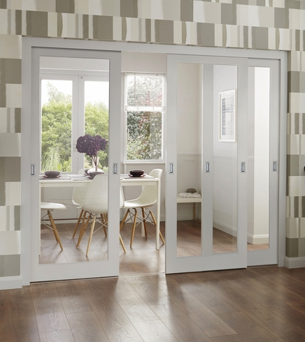 Pattern 10 Clear Pine glazed door & Pattern 10 Clear Pine glazed door | Internal softwood doors ...