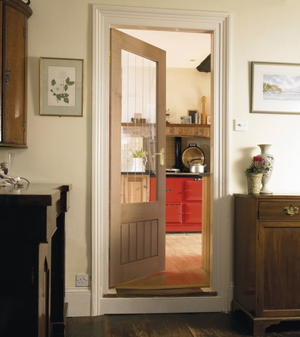 Dordogne Oak glazed door & Dordogne Oak glazed door | Internal hardwood doors | Doors ...