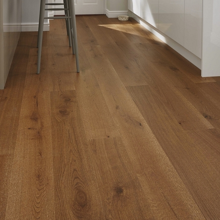 Pre-Finished Fast Fit Chestnut Oak 180mm flooring