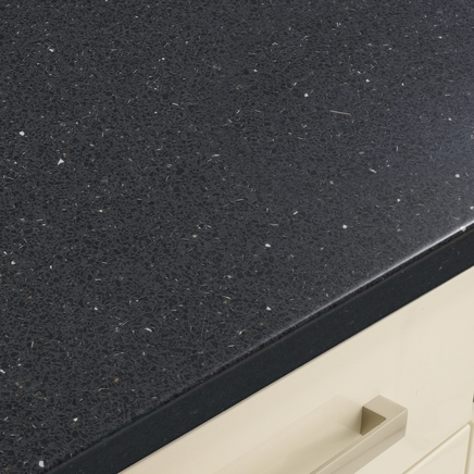 Quartzstone Grey Smooth worktop
