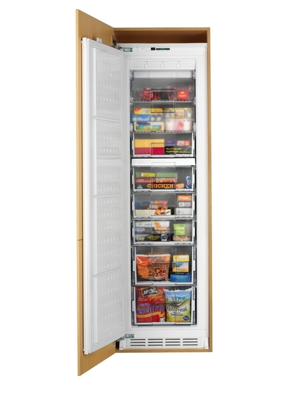 Lamona integrated full-height frost free freezer