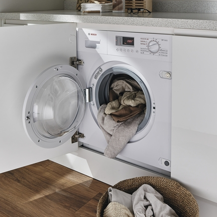 Bosch 1400rpm integrated washer dryer