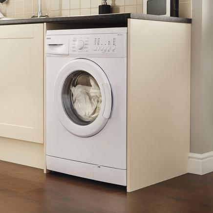 Shallow depth washing machine