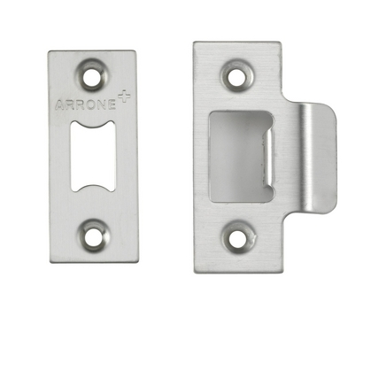 Premium tubular mortice latch Satin Stainless Steel