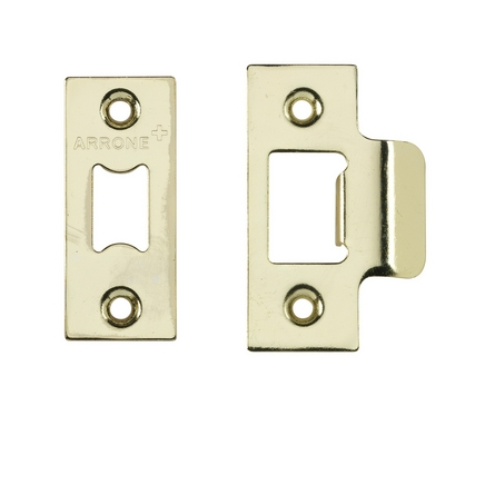 Premium tubular mortice latch Electro Brass