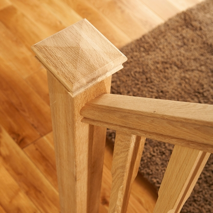 Newel cap (square oak)