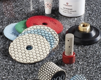 Granite worktop tools & accessories