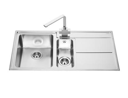Lamona Dorney 1.5 bowl sink | Stainless Steel kitchen sinks ...