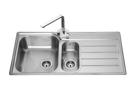1.5 Bowl Kitchen Sink Lamona belmont 15 bowl sink stainless steel kitchen sinks lamona belmont 15 bowl sink workwithnaturefo