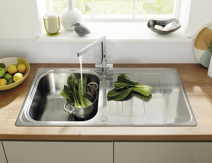 Lamona Kielder single bowl sink