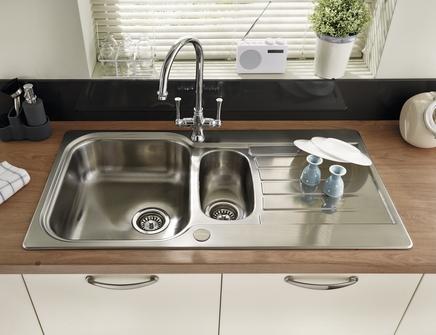 Lamona Ashworth 1.5 bowl sink | Stainless Steel kitchen sinks ...