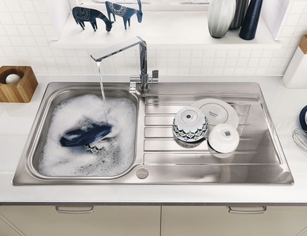 Lamona Ashworth single bowl sink