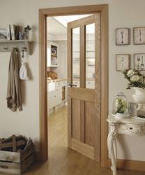 Burford 4 Panel Oak glazed door
