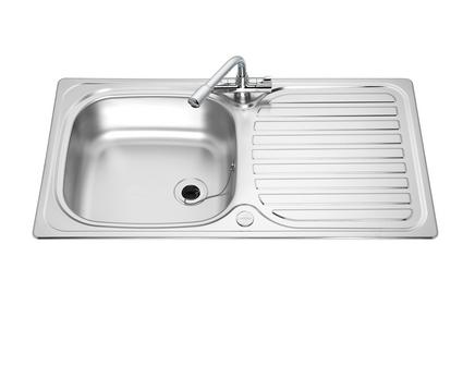 Lamona single bowl sink | Stainless Steel kitchen sinks | Howdens ...