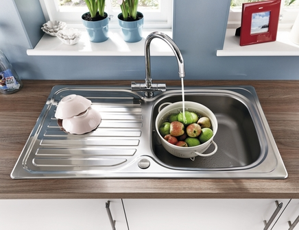 Lamona single bowl sink
