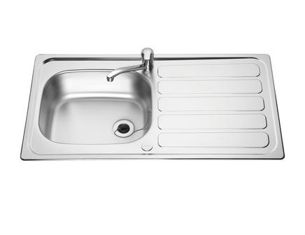 Lamona Drayton single bowl sink