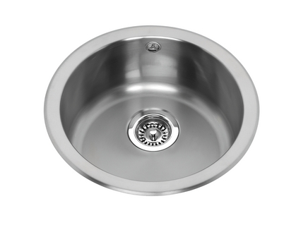 Lamona round bowl sink | Stainless Steel kitchen sinks | Howdens ...