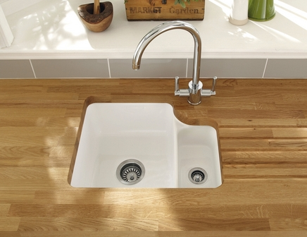 ... collection Kitchen sinks Lamona ceramic 1.5 bowl undermount sink