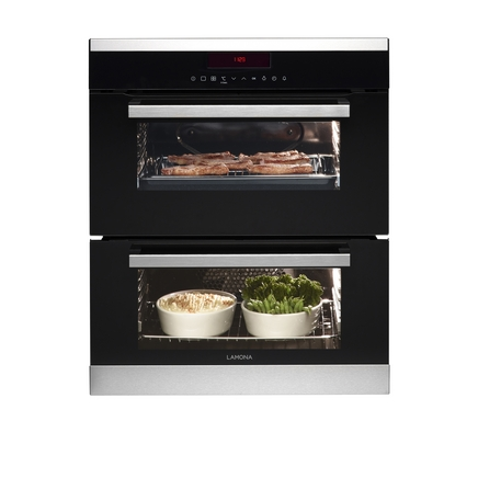 Lamona touch control built-under double multi-function oven