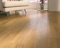 Professional V Groove Oak laminate flooring