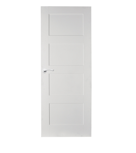 4 Panel Shaker smooth door